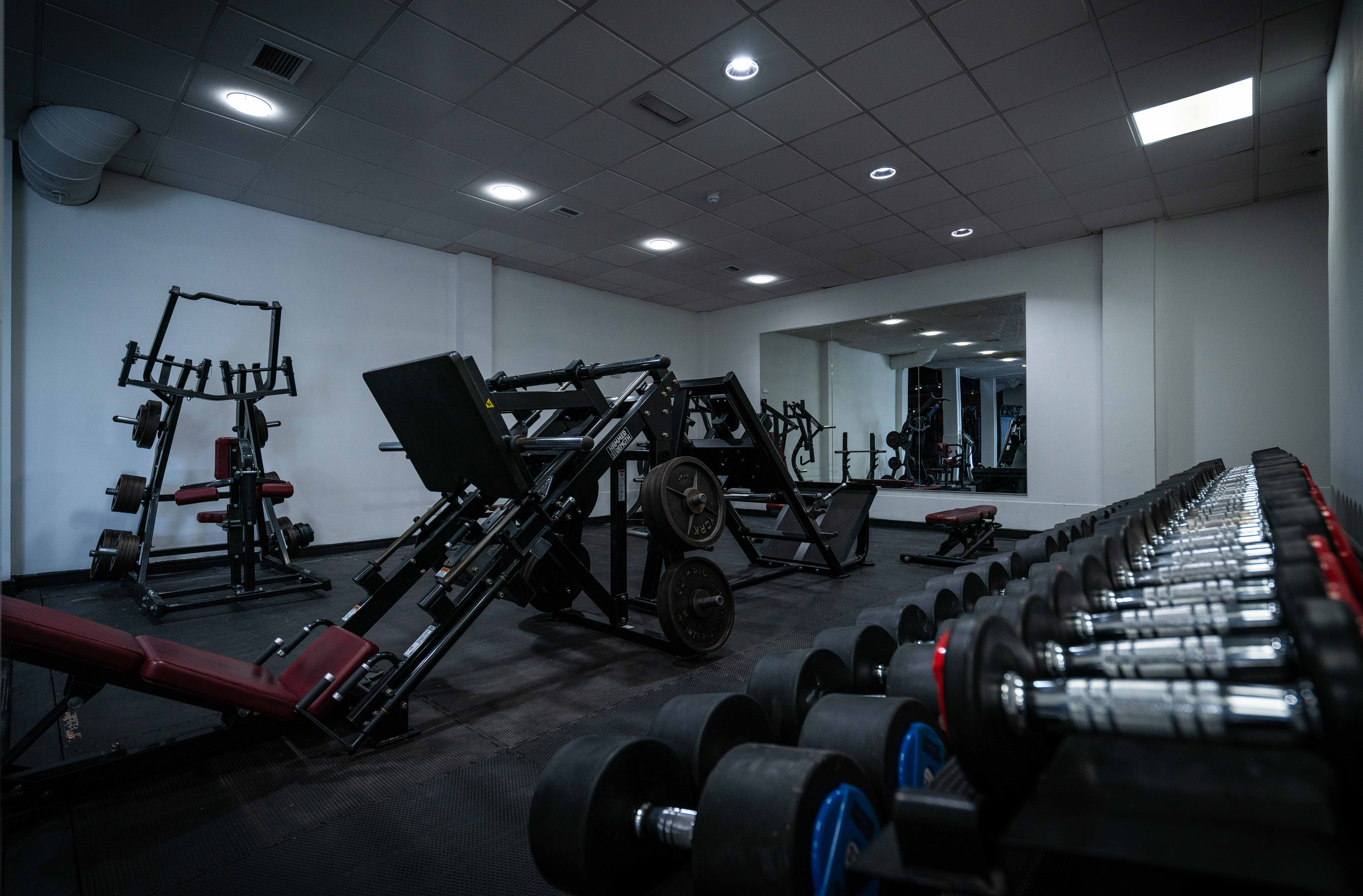 XChange Fitness Gym, White Zone